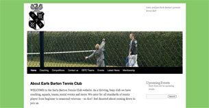 Earls Barton Tennis